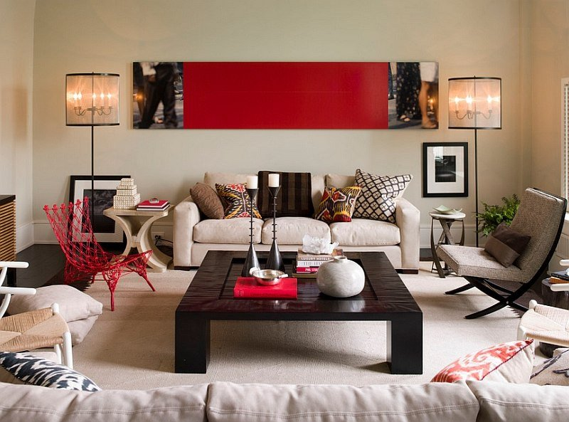Accent Decor for Living Room Best Of Red Living Rooms Design Ideas Decorations S