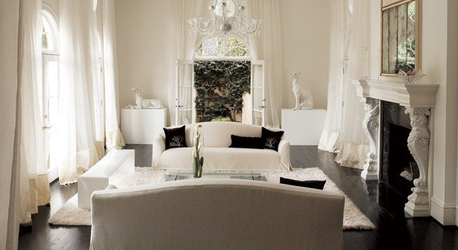 Decorating All White Rooms Ideas & Inspiration
