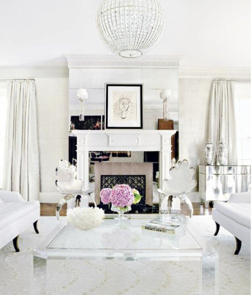All White Living Room Decor Best Of Shades Of White Inspirations French Country Cottage