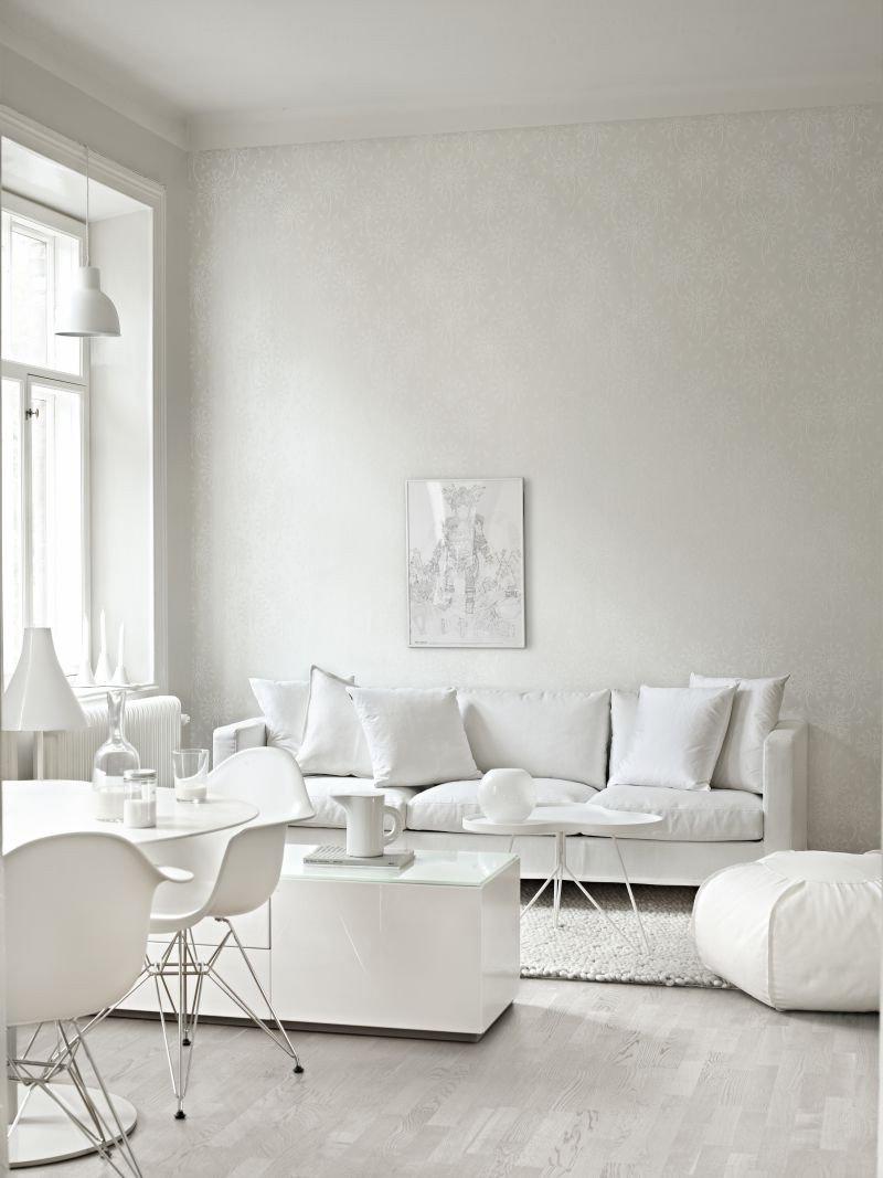 All White Living Room Decor Inspirational Decordots 2013 December