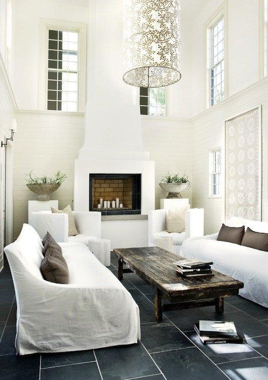 All White Living Room Decor Inspirational Two Story Living Room Design Ideas