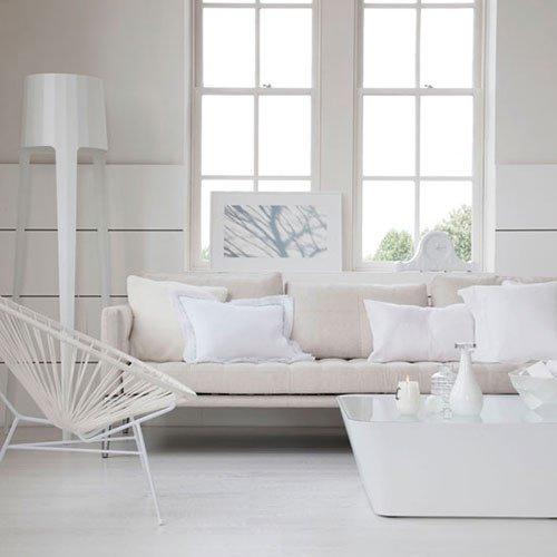 All White Living Room Decor Unique Witte Woonkamer Inrichten