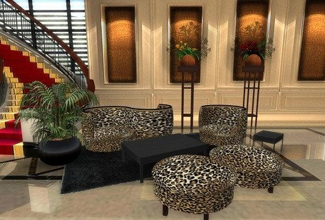 Animal Print Living Room Decor Fresh Second Life Marketplace Leopard S Living Room Set Boxed