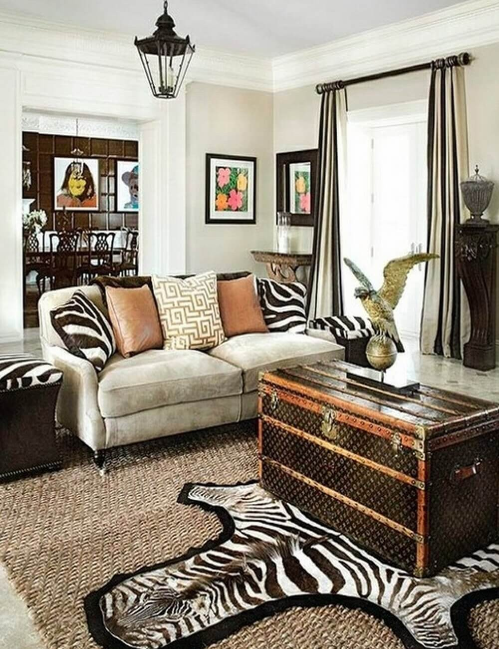 Animal Print Living Room Decor Inspirational Make Your Rooms Look Fierce and Wild by Using Zebra Print