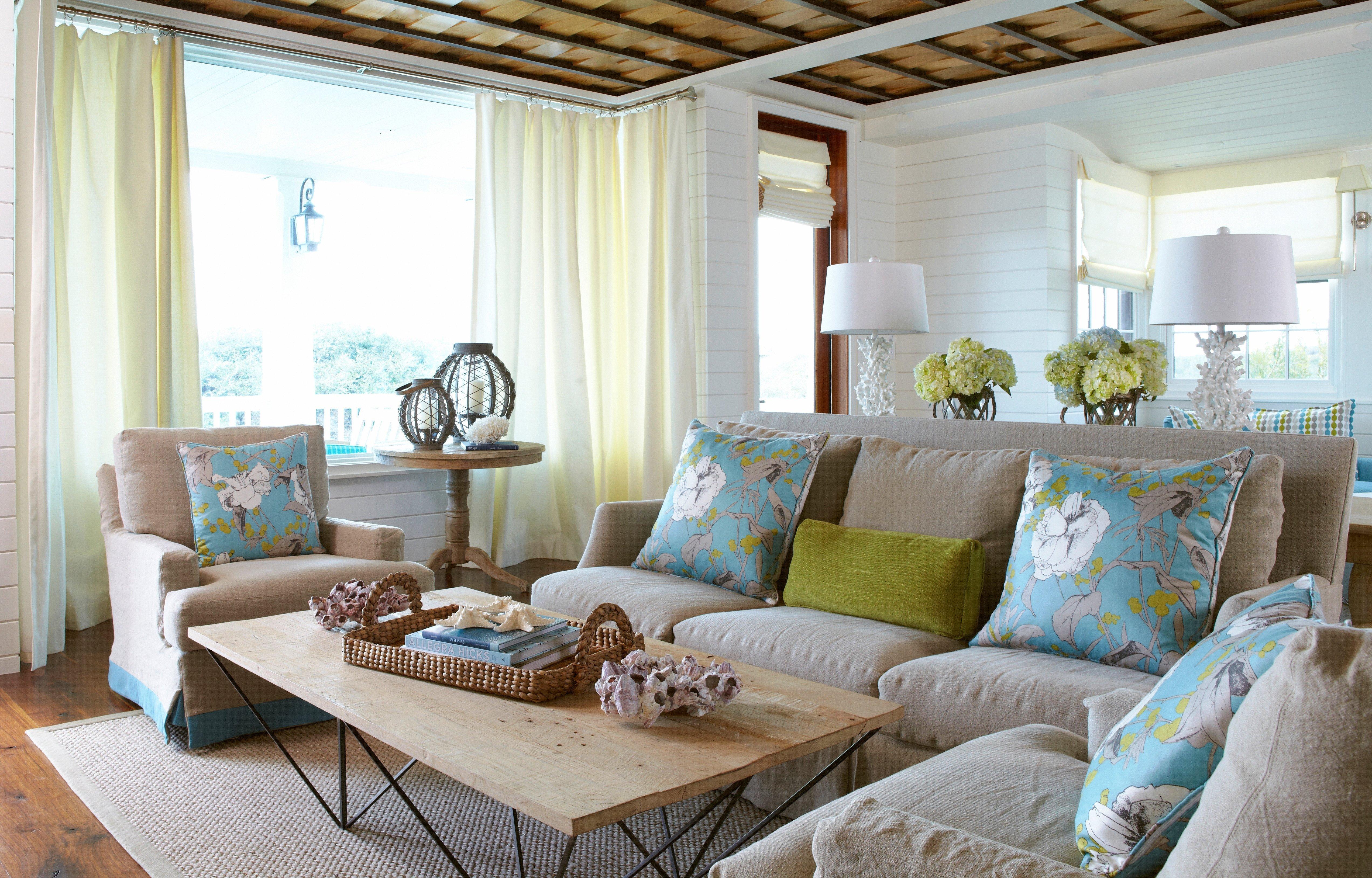Beach House Living Room Decor Beautiful Beach Escape Living Room