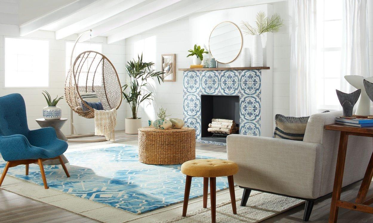 Beach House Living Room Decor Beautiful Fresh & Modern Beach House Decorating Ideas Overstock