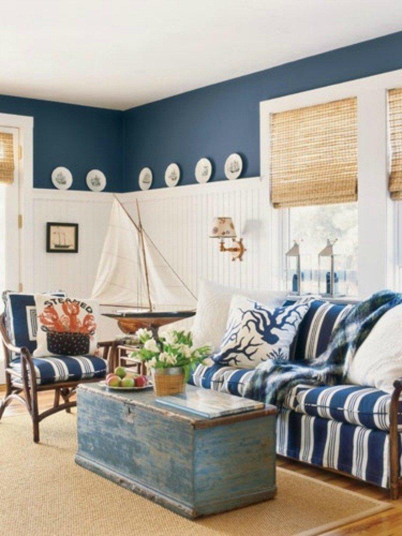 Beach House Living Room Decor Elegant 40 Chic Beach House Interior Design Ideas Loombrand