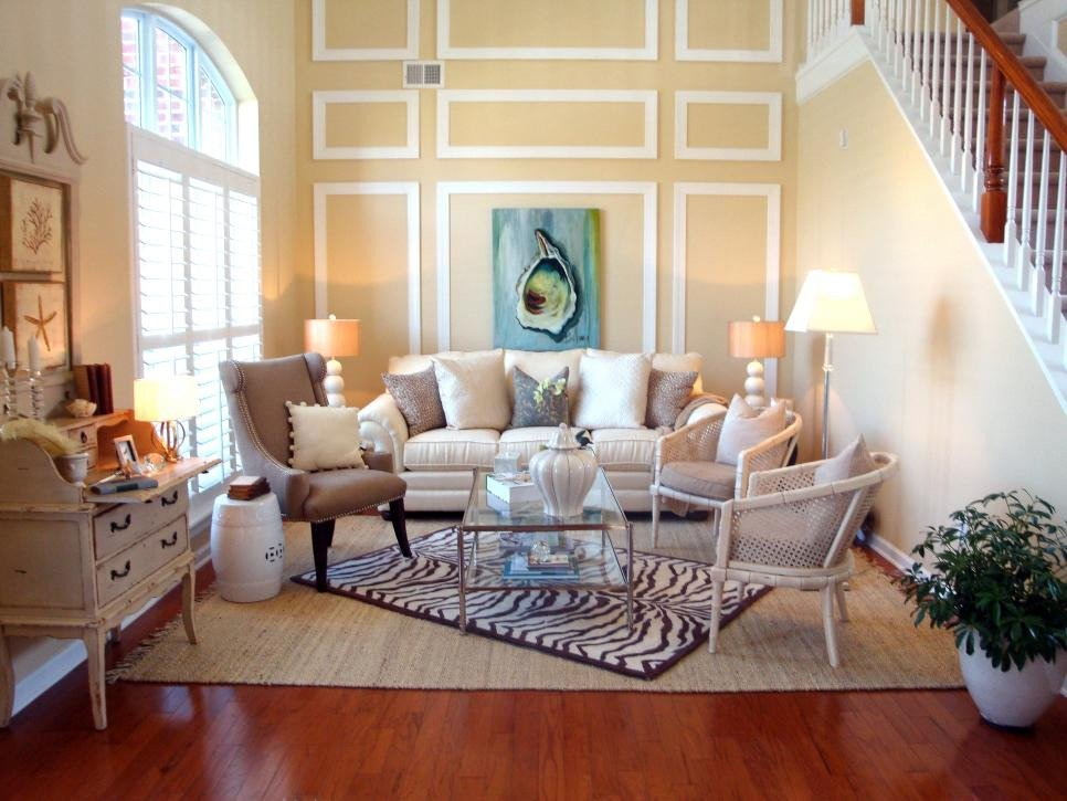 Beach House Living Room Decor Elegant Coastal Decorating Ideas Beachfront Bargain Hunt