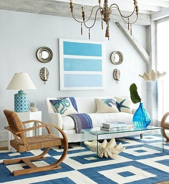 Beach House Living Room Decor Elegant Modern Coastal Decor