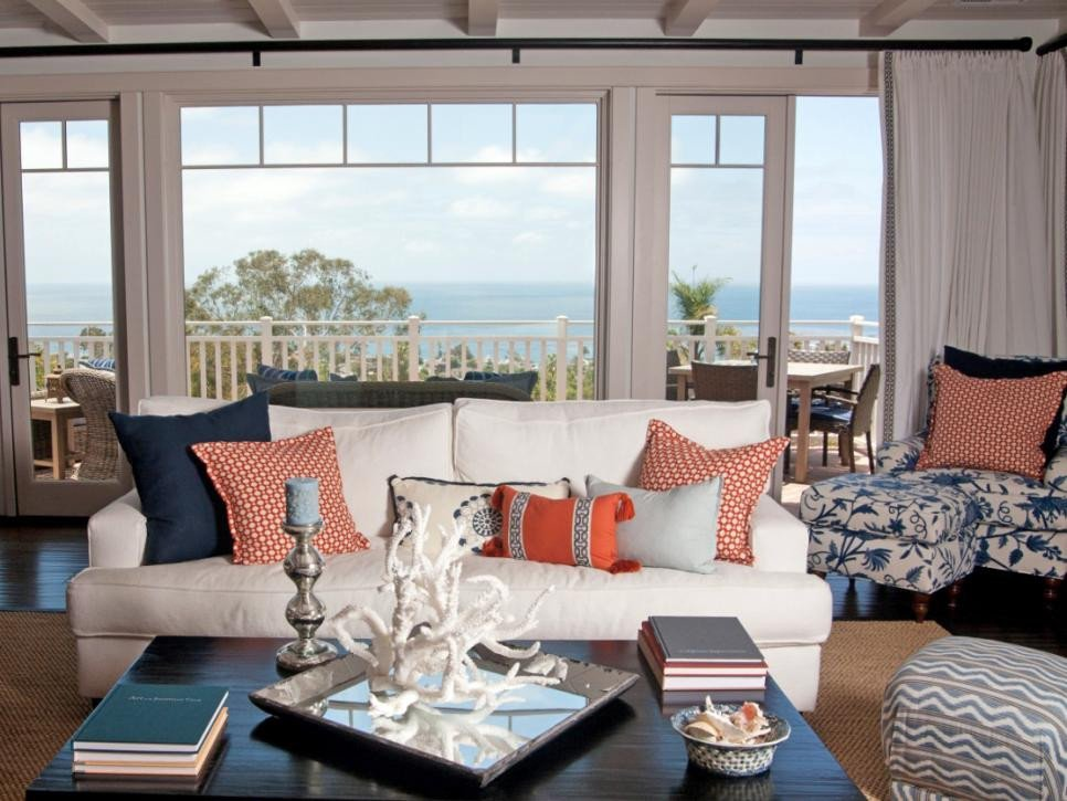 Beach themed Living Room Decor Luxury Coastal Living Room Ideas