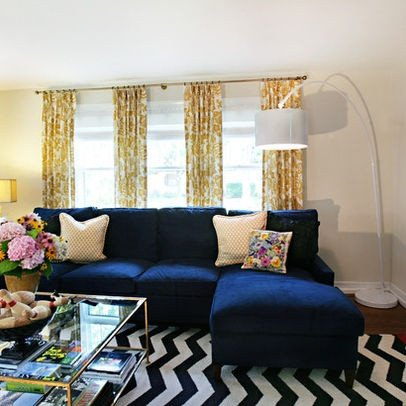 Blue Living Room Decor Ideas Awesome Modern Navy Blue Sectional sofa Design Ideas
