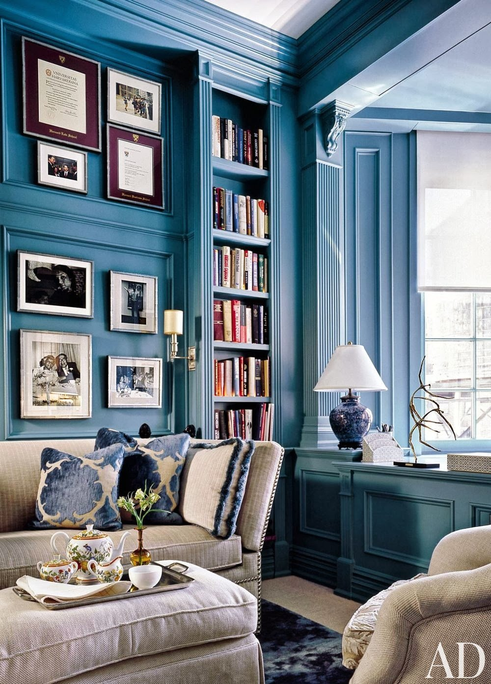 Blue Living Room Decor Ideas Best Of Mix and Chic Gorgeous Blue and White Rooms
