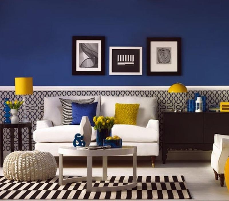 Blue Living Room Decor Ideas Fresh 20 Charming Blue and Yellow Living Room Design Ideas Rilane
