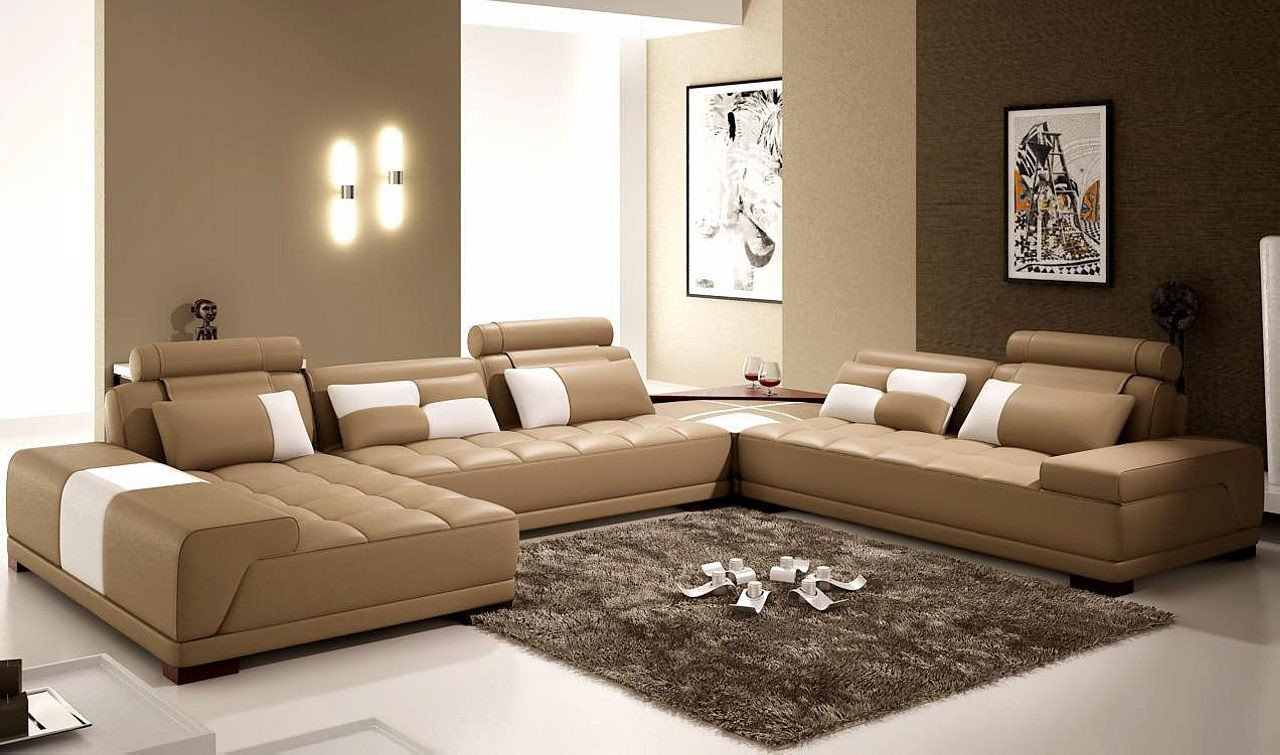 Brown Living Room Decor Ideas Unique the Interior Of A Living Room In Brown Color Features