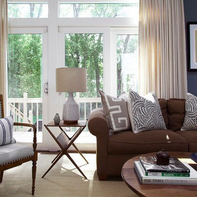 Brown sofa Living Room Decor Awesome Decorating with A Brown sofa