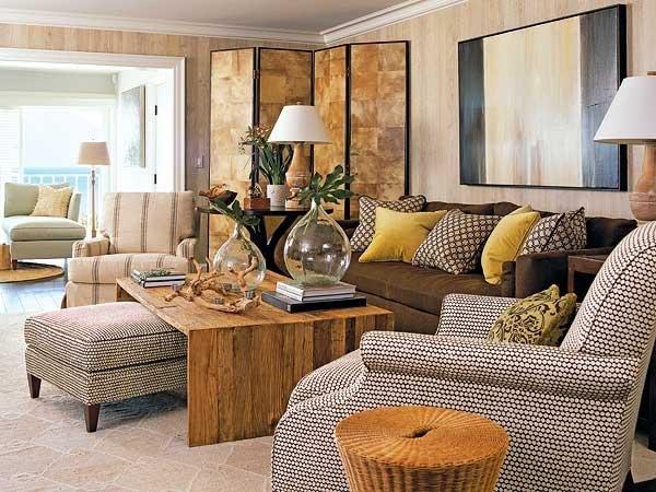 Brown sofa Living Room Decor Beautiful Chocolate Brown sofa Design Ideas