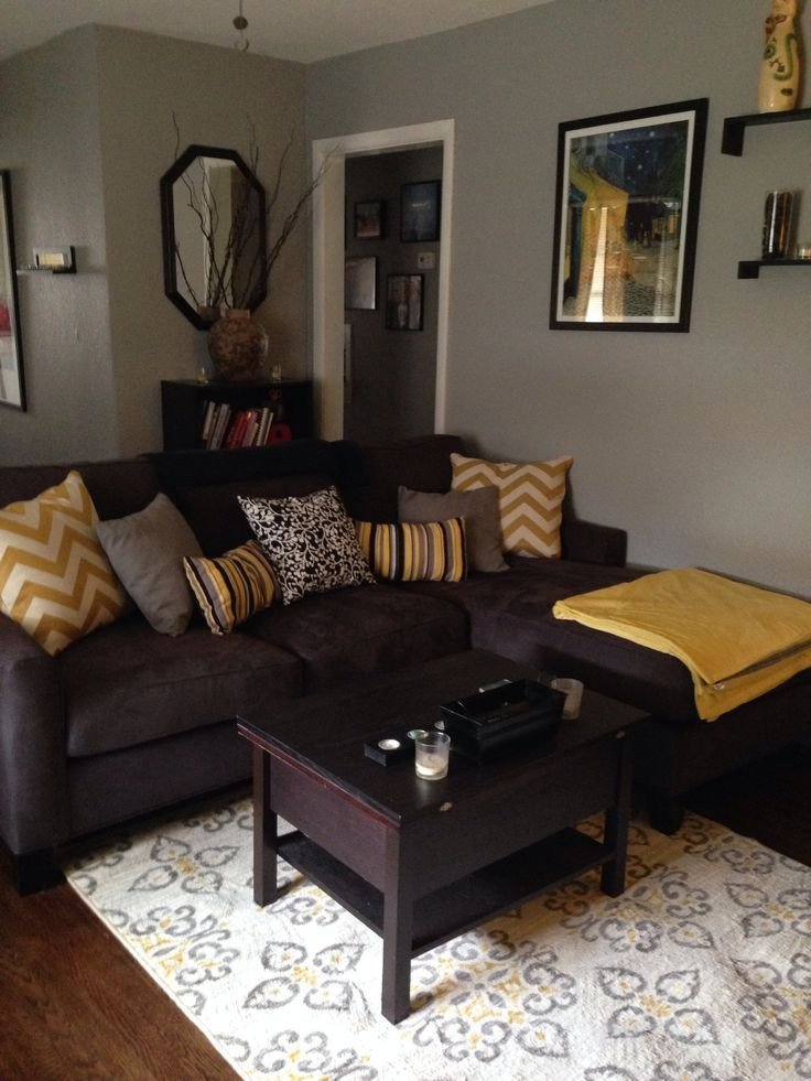Brown sofa Living Room Decor Beautiful Furniture Ideas for An Elegant and Refined Living Room