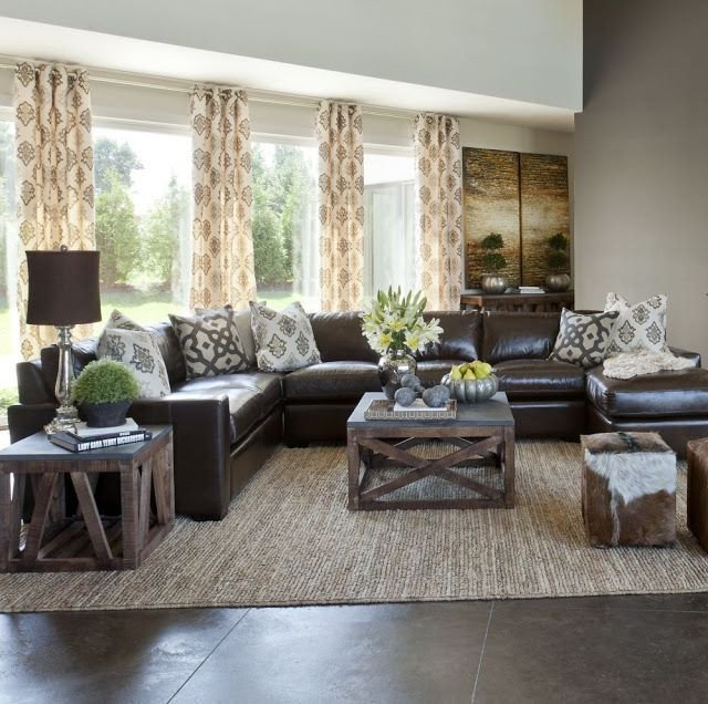 Brown sofa Living Room Decor Elegant 10 Creative Methods to Decorate Along with Brown