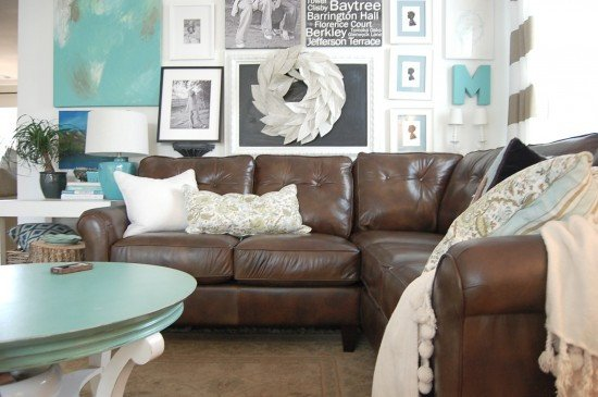 Brown sofa Living Room Decor Elegant Decorating with A Brown sofa