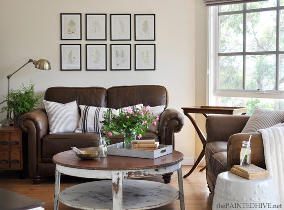 Brown sofa Living Room Decor Unique Decorating with A Brown sofa