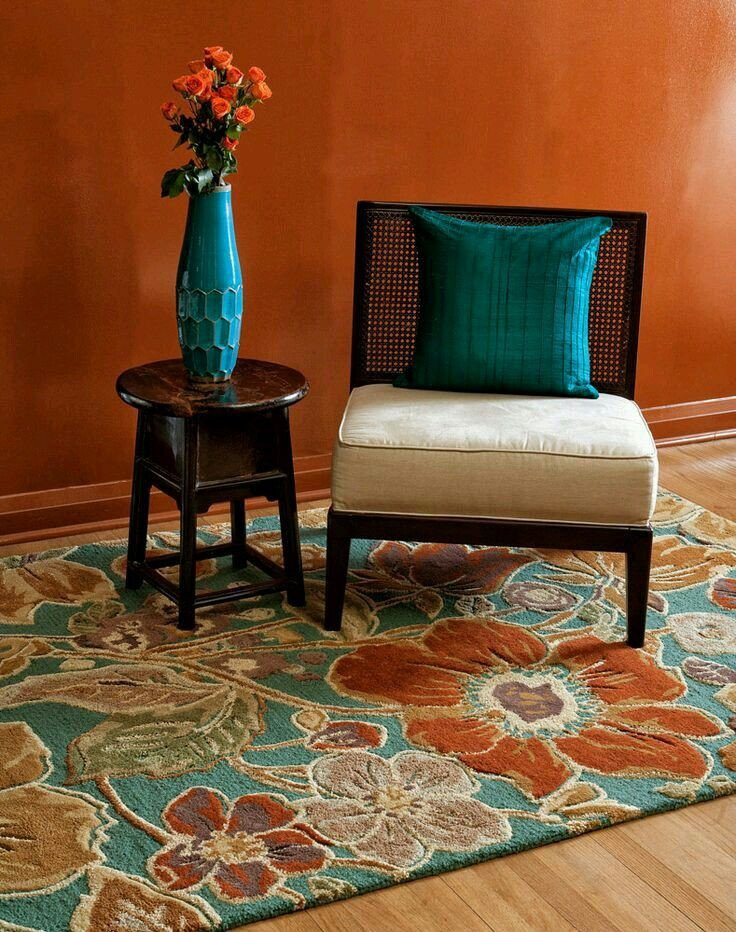 Burnt orange Living Room Decor Best Of 50 Turquoise Room Decorations Ideas and Inspirations