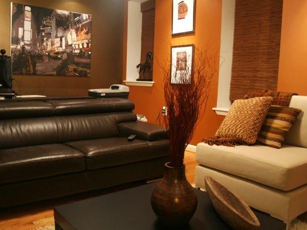 Burnt orange Living Room Decor Elegant Burnt orange Living Room