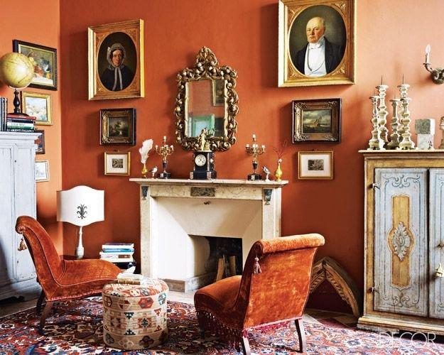 Burnt orange Living Room Decor New 17 Best Ideas About Burnt orange Rooms On Pinterest