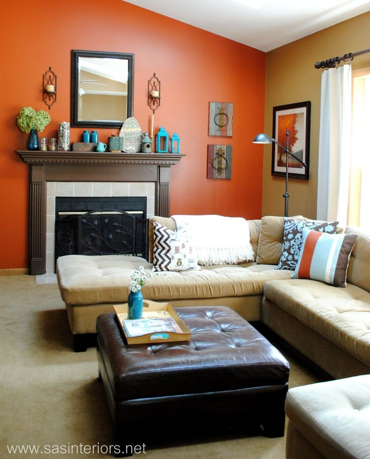 Burnt orange Living Room Decor Unique 17 Best Images About All Things Burnt orange On Pinterest