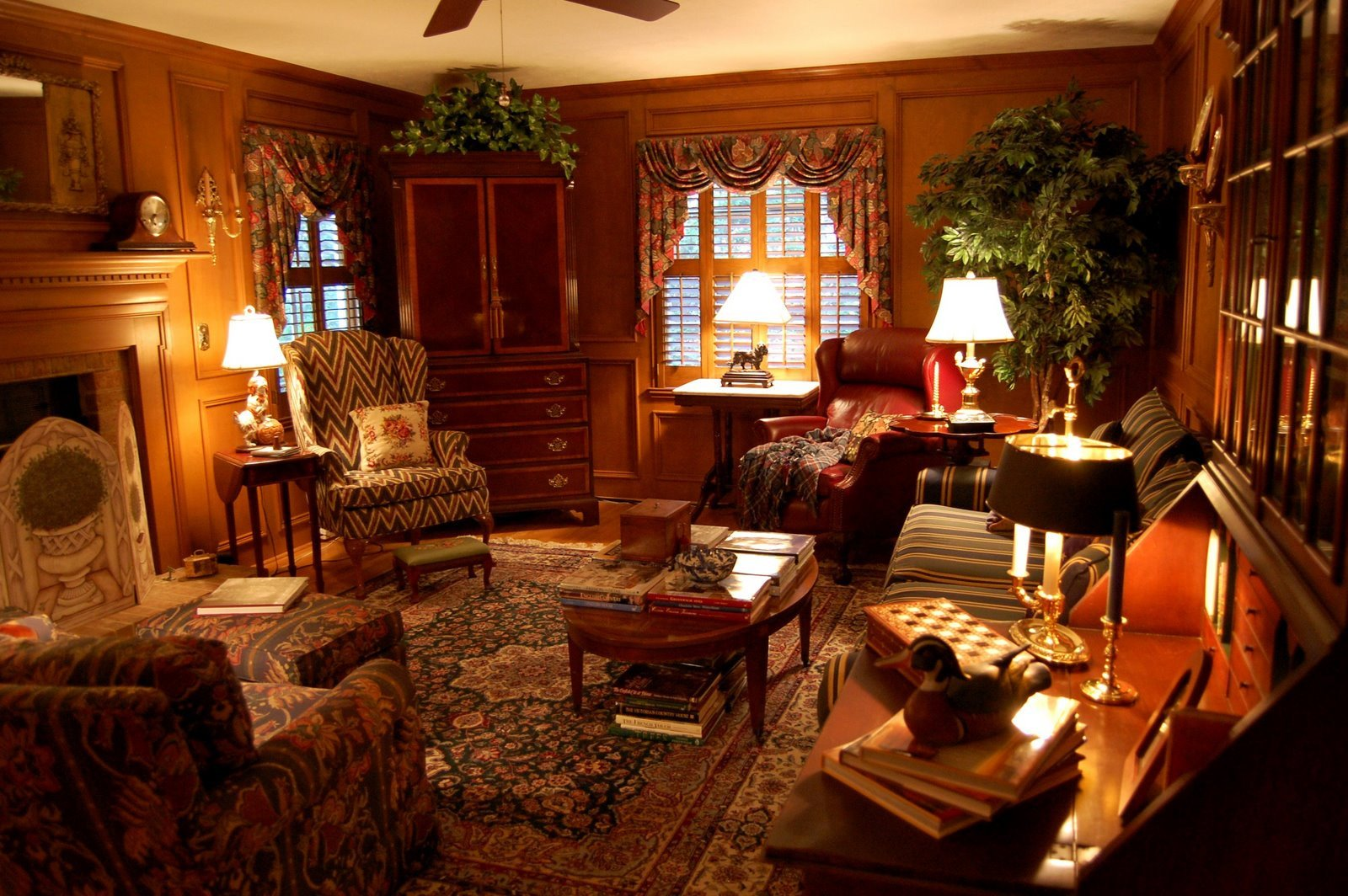 Country themed Living Room Decor Awesome Living Room Decorated In English Country Style Hunt theme