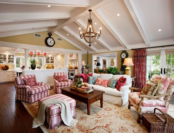 Country themed Living Room Decor Inspirational 20 Dashing French Country Living Rooms