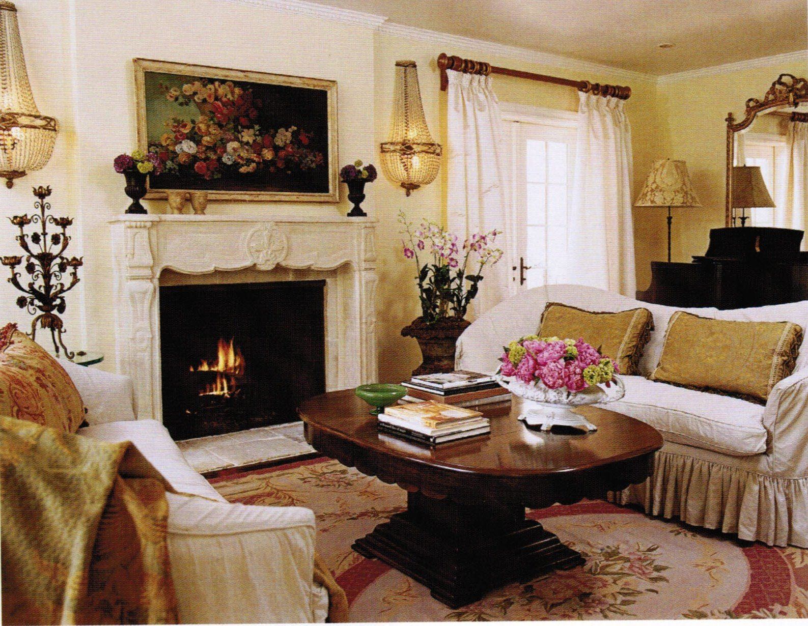 French Country Living Room Decor Unique Maison Decor French Country Enchanting Yellow & White