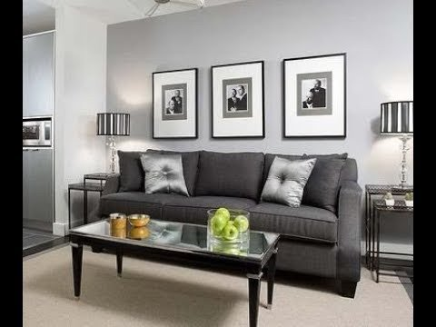 Grey Living Room Decor Ideas Unique Living Room Grey Walls Black Furniture Interior Design