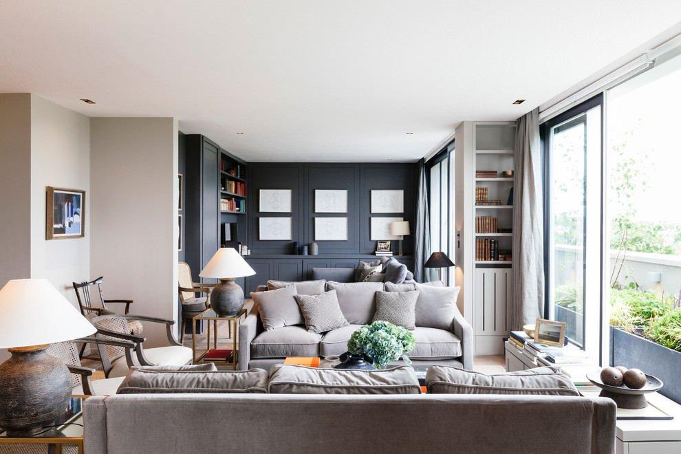 Grey sofa Living Room Decor Awesome 24 Gray sofa Living Room Furniture Designs Ideas Plans