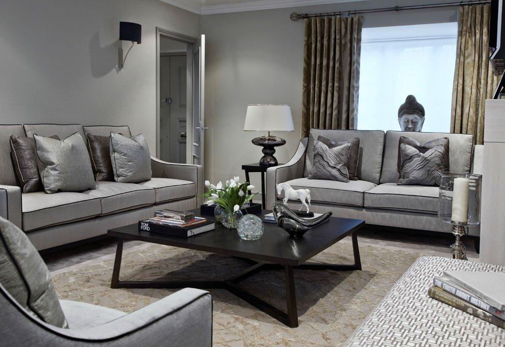 Grey sofa Living Room Decor Best Of 24 Gray sofa Living Room Designs Decorating Ideas
