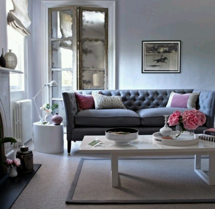 Grey sofa Living Room Decor New 17 Best Images About Living Room On Pinterest
