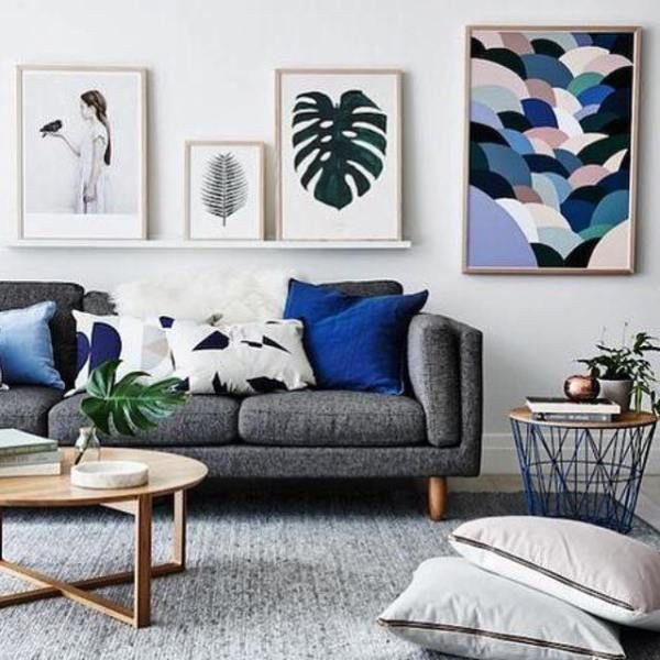 Grey sofa Living Room Decor New Living Room Inspiration How to Style A Grey sofa
