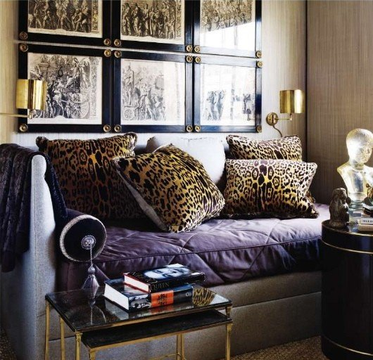 Leopard Decor for Living Room Luxury Refresh Your Decor with Leopard Prints