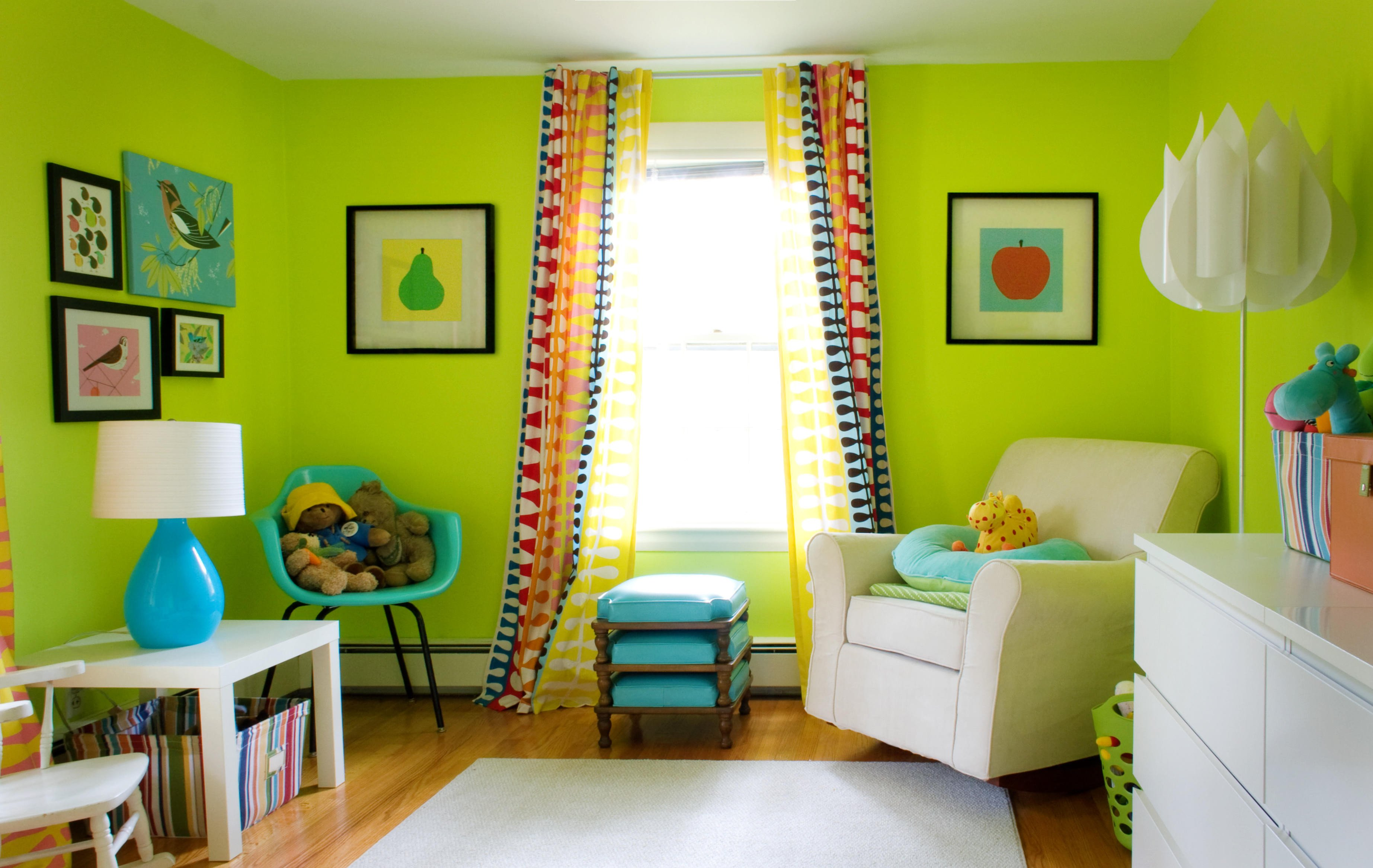 Lime Green Living Room Decor Awesome Lime Green Living Room Design with Fresh Colors Home