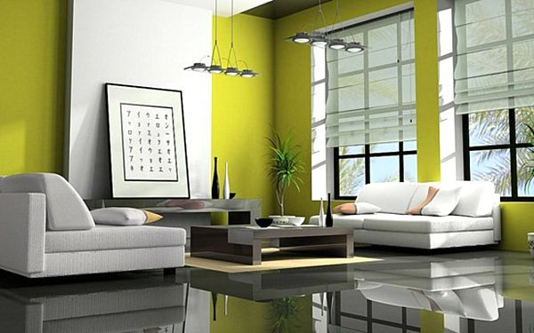 Lime Green Living Room Decor Awesome Shades Of Green A Verdant Spring Decorating Palette