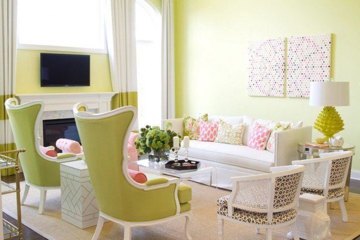 Lime Green Living Room Decor Fresh 15 Lime Green Living Room Designs