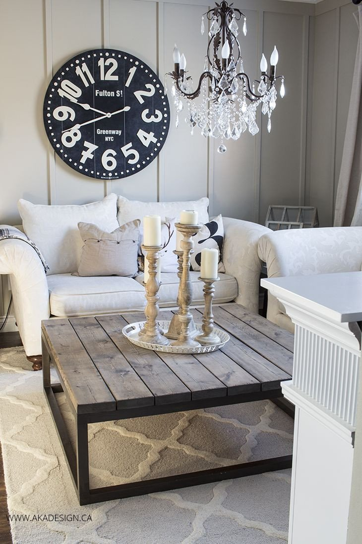 Living Room Center Table Decor Awesome Best 25 Square Coffee Table Ideas On Pinterest
