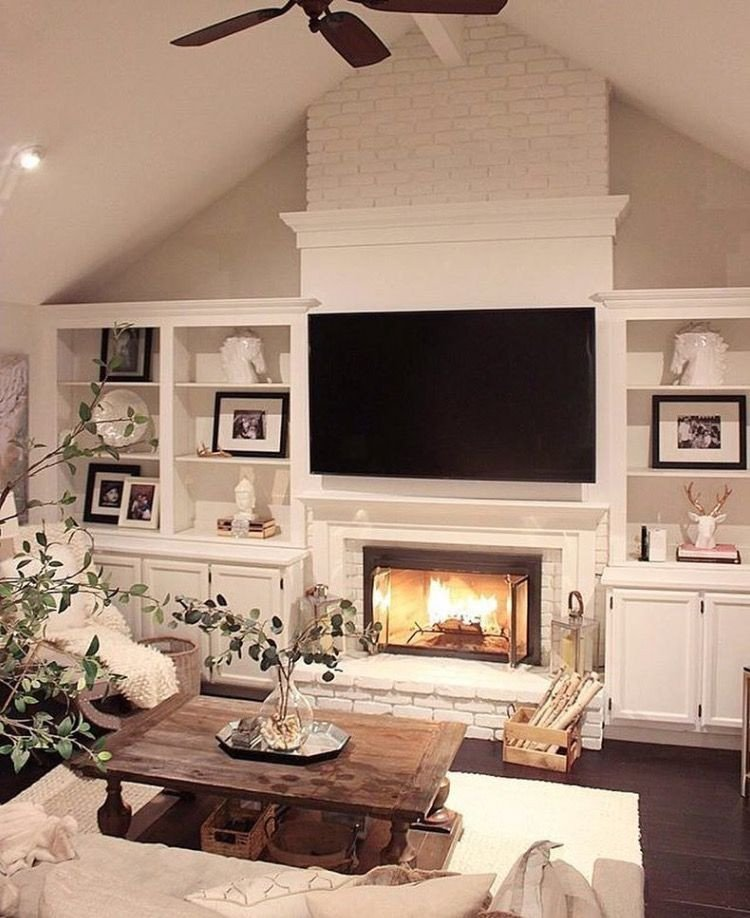 Living Room Decor with Fireplace Beautiful 20 Living Room with Fireplace that Will Warm You All