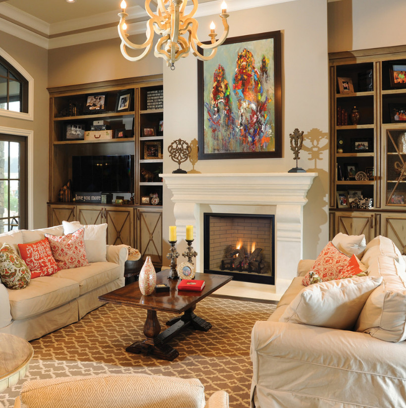 Living Room Decor with Fireplace Beautiful Use Underfloor Heating to Make Your Home Feel Luxurious