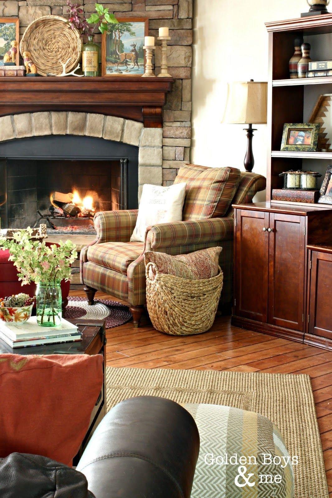 Living Room Decor with Fireplace Fresh Our Fall Family Room Diy Home Decor Ideas