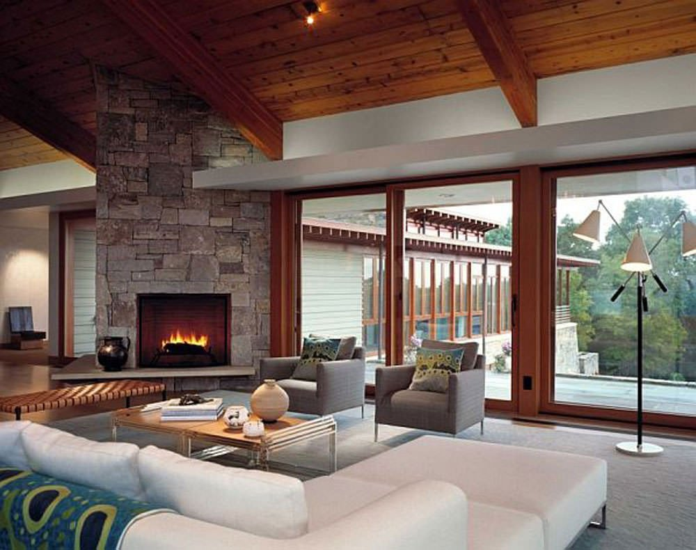 Living Room Decor with Fireplace Inspirational 16 Modern Living Room Designs Decorating Ideas