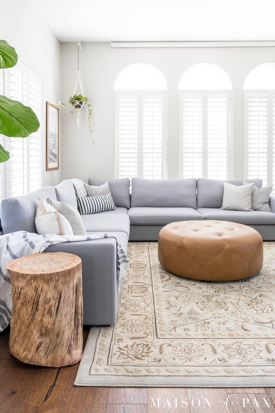 Living Room Decor with Sectional Awesome How to Decorate A Living Room with A Sectional Maison De Pax