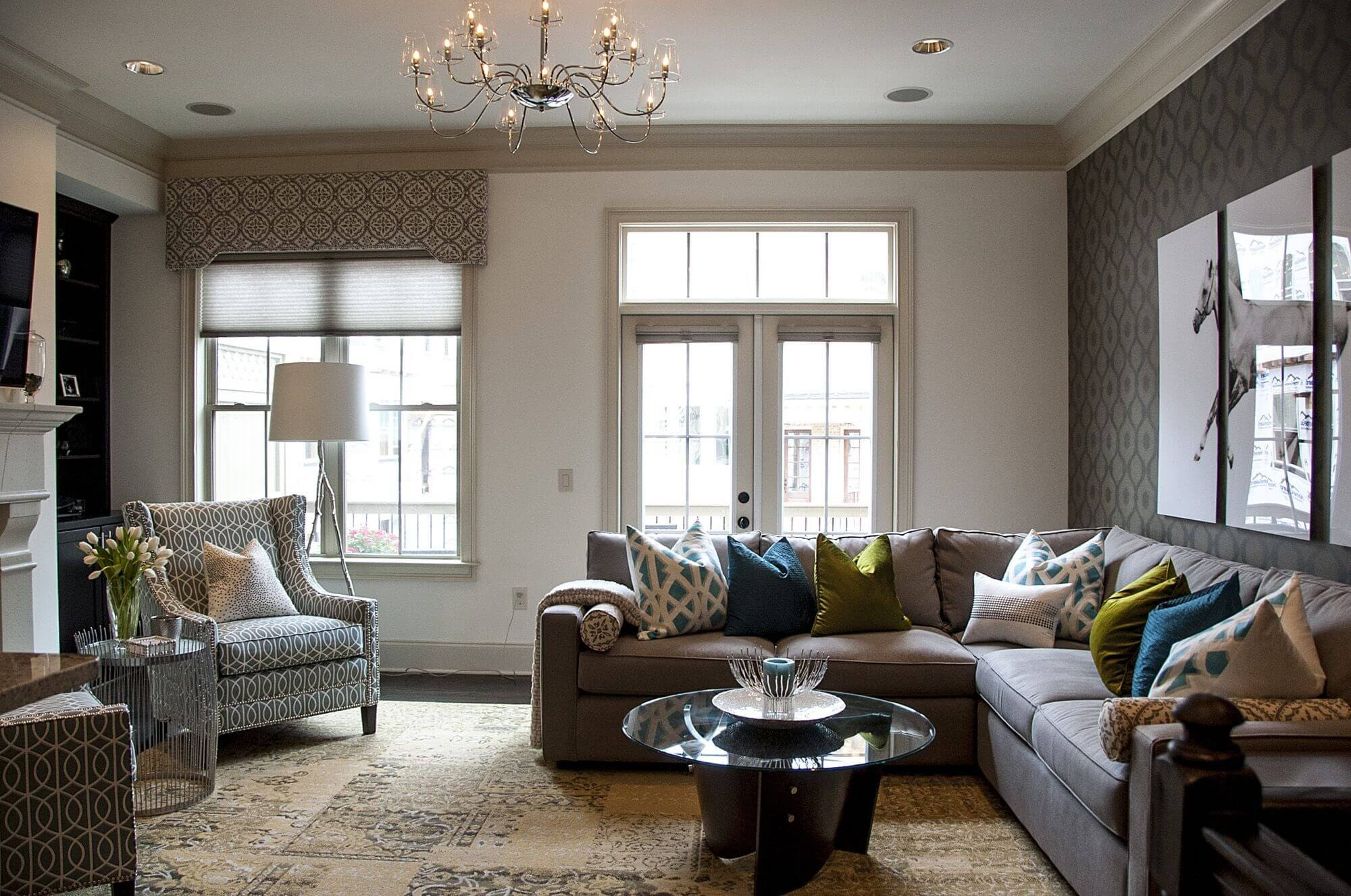 Living Room Decor with Sectional Elegant Living Room sofa with Chaise Contemporary — the Home