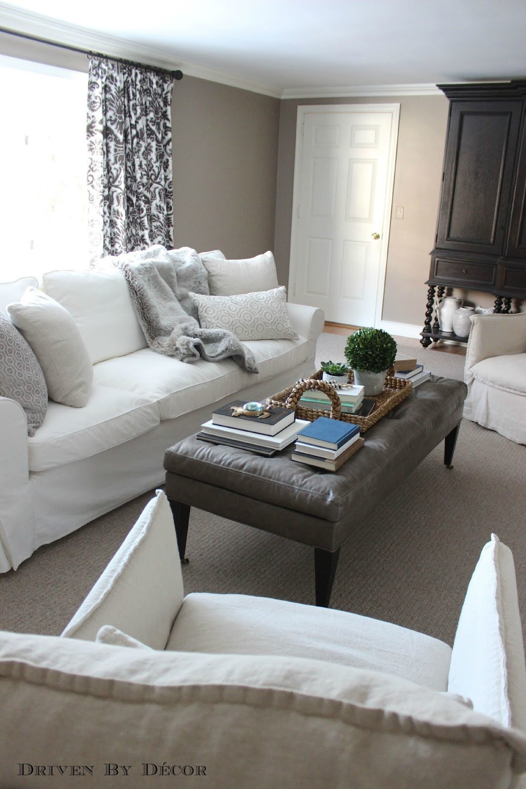 Living Room Decor with Sectional Inspirational How We Supersized Our Ikea Ektorp sofa Driven by Decor