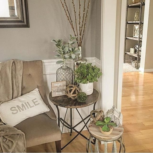 Living Room End Table Decor Beautiful Best 25 Side Table Decor Ideas On Pinterest