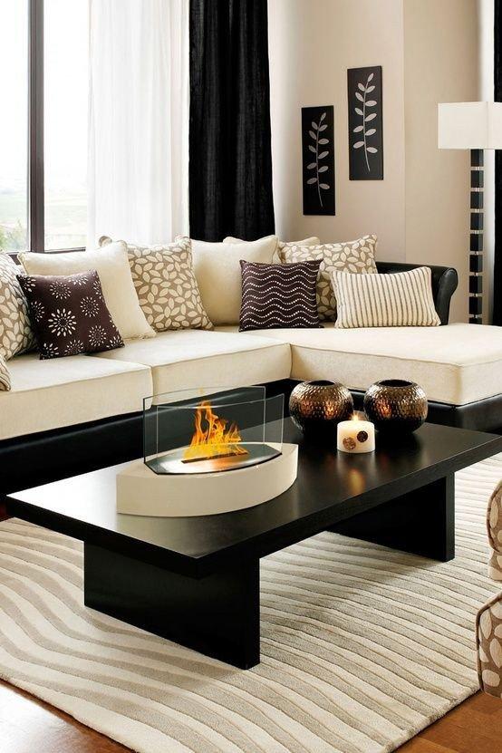Living Room Ideas Black Fresh 48 Black and White Living Room Ideas Decoholic